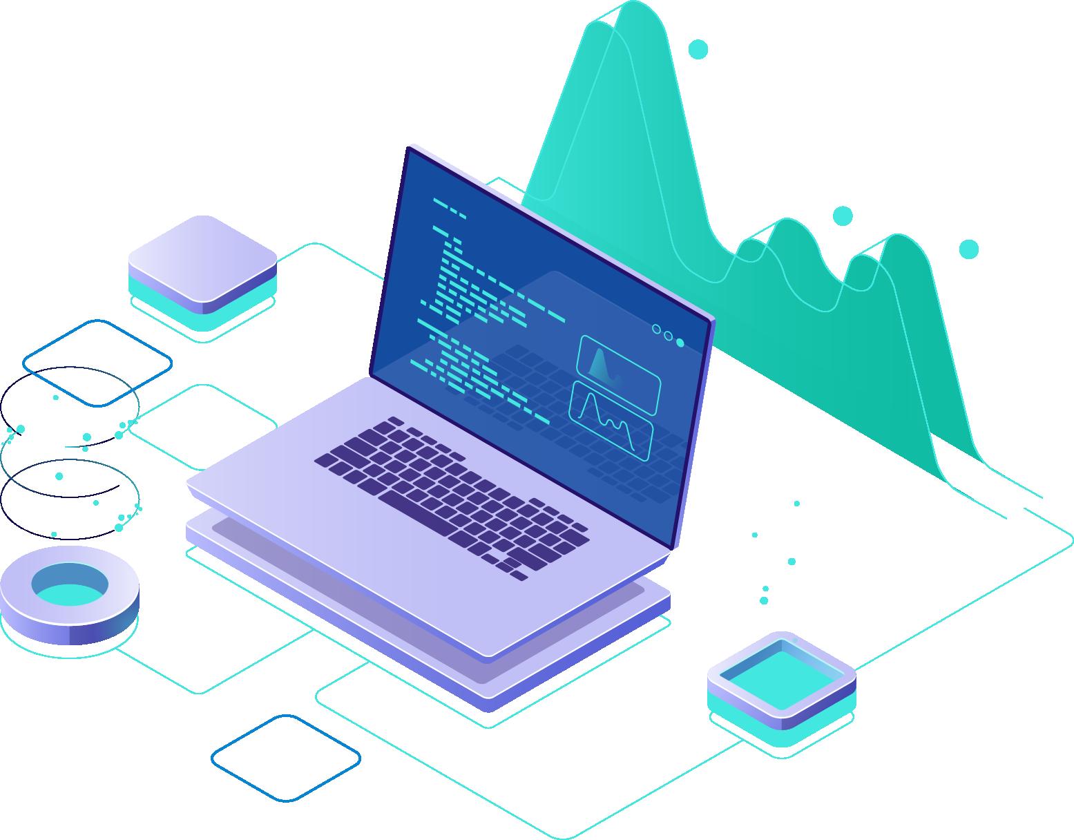 Software Development Banner illustration