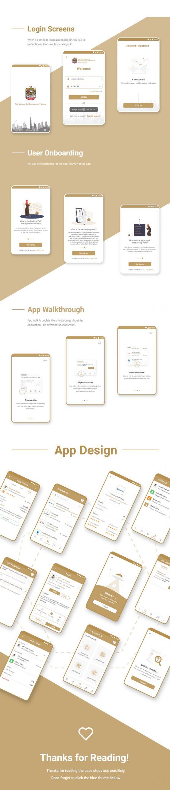 Freelancer Mobile App